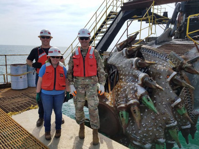 USACE Photo Update: CSD Texas Busy in Charleston