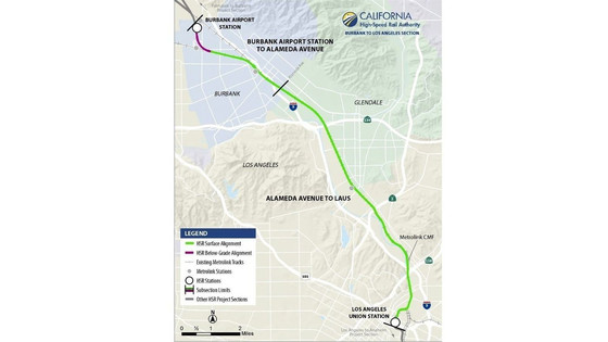 High-speed rail officials update public on Burbank-to-L.A. section of project
