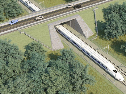 Ellis County residents express new concerns as high-speed rail project moves forward