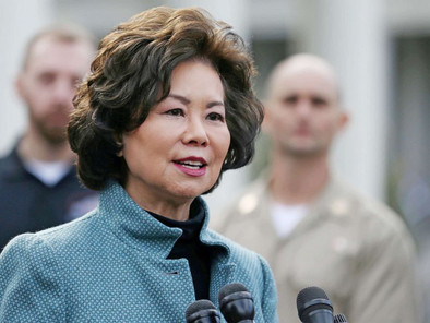 U.S. Secretary of Transportation Elaine L. Chao Commemorates the 150th Anniversary of the Golden Spi