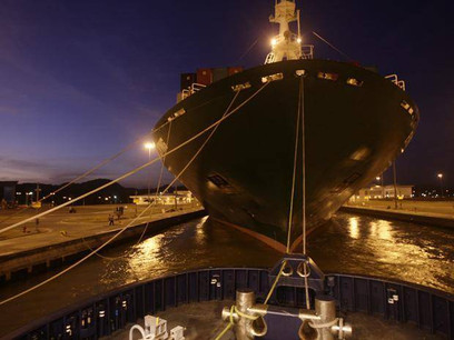 After a $5.25B expansion, ships are scraping by Panama Canal's malfunctioning lock doors