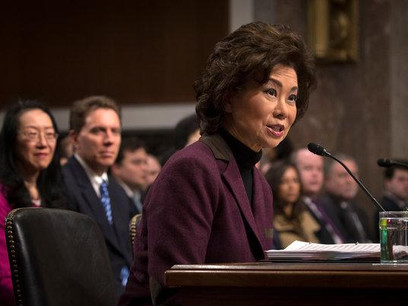 Secretary Chao explains requested budget cuts during House hearing
