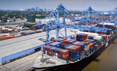 New Orleans port, railroad advance Avondale Shipyard project