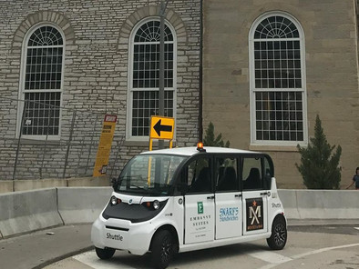 If streetlights and cars could talk: Firms demonstrate 'smart infrastructure' tech in downto