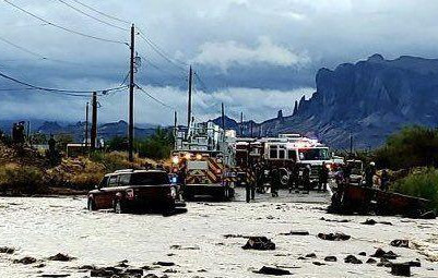 System to predict rising flood waters could benefit Apache Junction