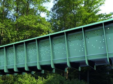 World's first plastic bridge installed in UK