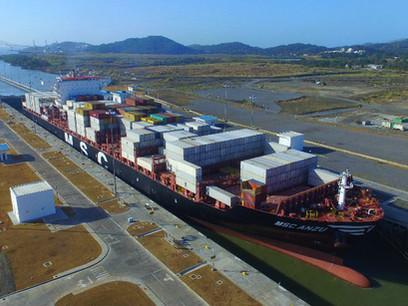 Thousandth Neopanamax Vessel Transits Panama Canal