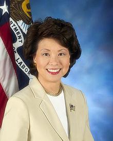Bush Cabinet member Elaine Chao is Trump's choice for transportation secretary