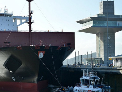 Expanded Panama Canal Welcomes Largest Capacity Vessel To Date