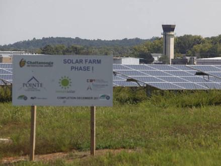 Cooper: Feds help Chattanooga Metropolitan Airport go solar