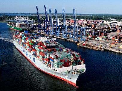 South Carolina Port Authority Reports Record Container Volume in FY 2018