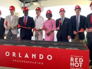 Ground broken on Virgin Trains USA's expansion linking Miami to Orlando.