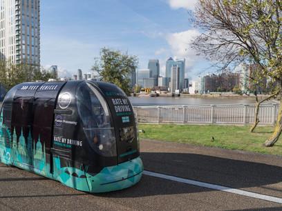 Public Trial of 'Last Mile' Pods Underway in London