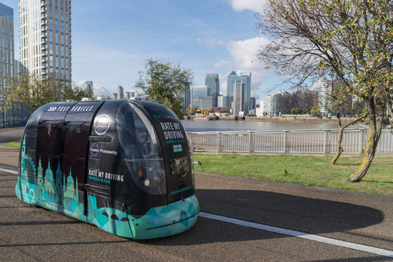 Public Trial of 'Last Mile' Pods Underway in London