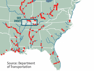 America's oldest transport network needs some attention