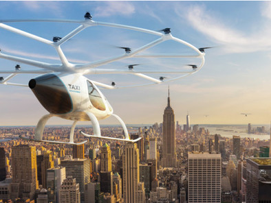 Volocopter Presents Air Taxi Services at Scale