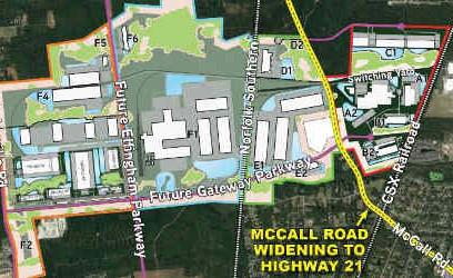OmniTRAX: Savannah Gateway Hub's road construction begins