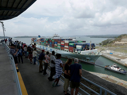 Climate-change fears: Drought hits Panama Canal shipping
