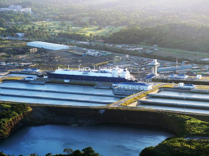 Picture of the day: Cool Voyager at expanded Panama Canal
