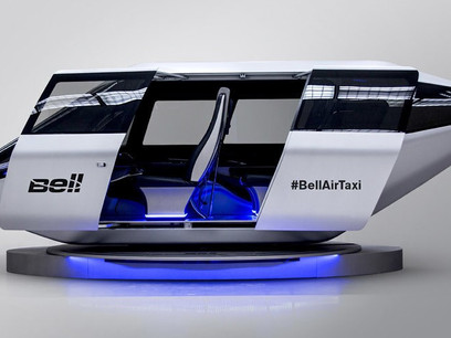 Uber, Bell Helicopter Are Serious About Their Texas-Based 'Flying Car' Service