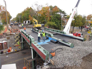 This Is How We Roll – NJ Transit employs ABC techniques to replace two commuter rail bridges in less