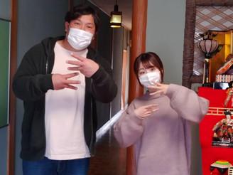 向井さんと原さんが来てくれました