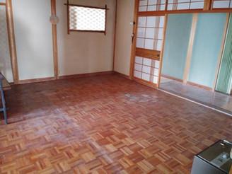 【2号館】洋間、和室改修