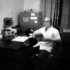 Dr. Lynn in His Office