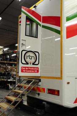 Production truck rear