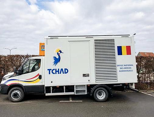 March 2021 • Chad Studiotech Belgium responsible for digitisation