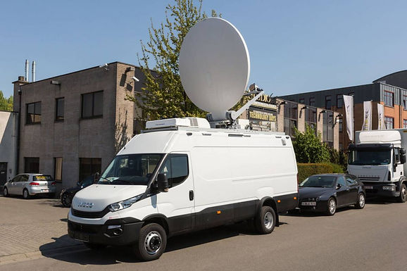AUGUST 2017 - STUDIOTECH BELGIUM RECENTLY INTRODUCED ITS NEW DSNG OB VAN FOR RTI