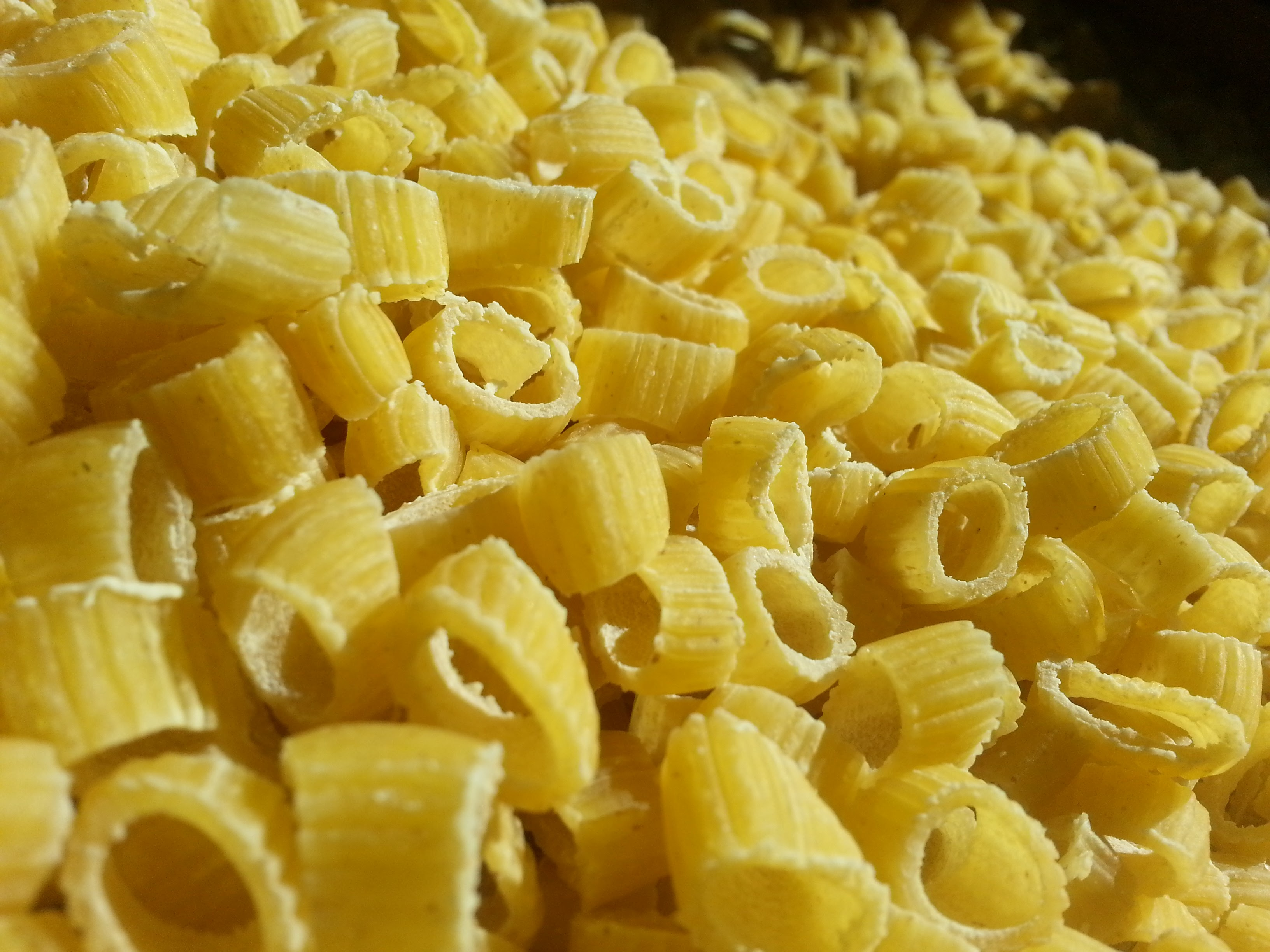 Ditalini pasta huile d'olives