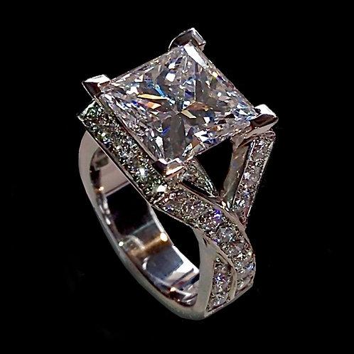 Paris Diamond Engagement Ring