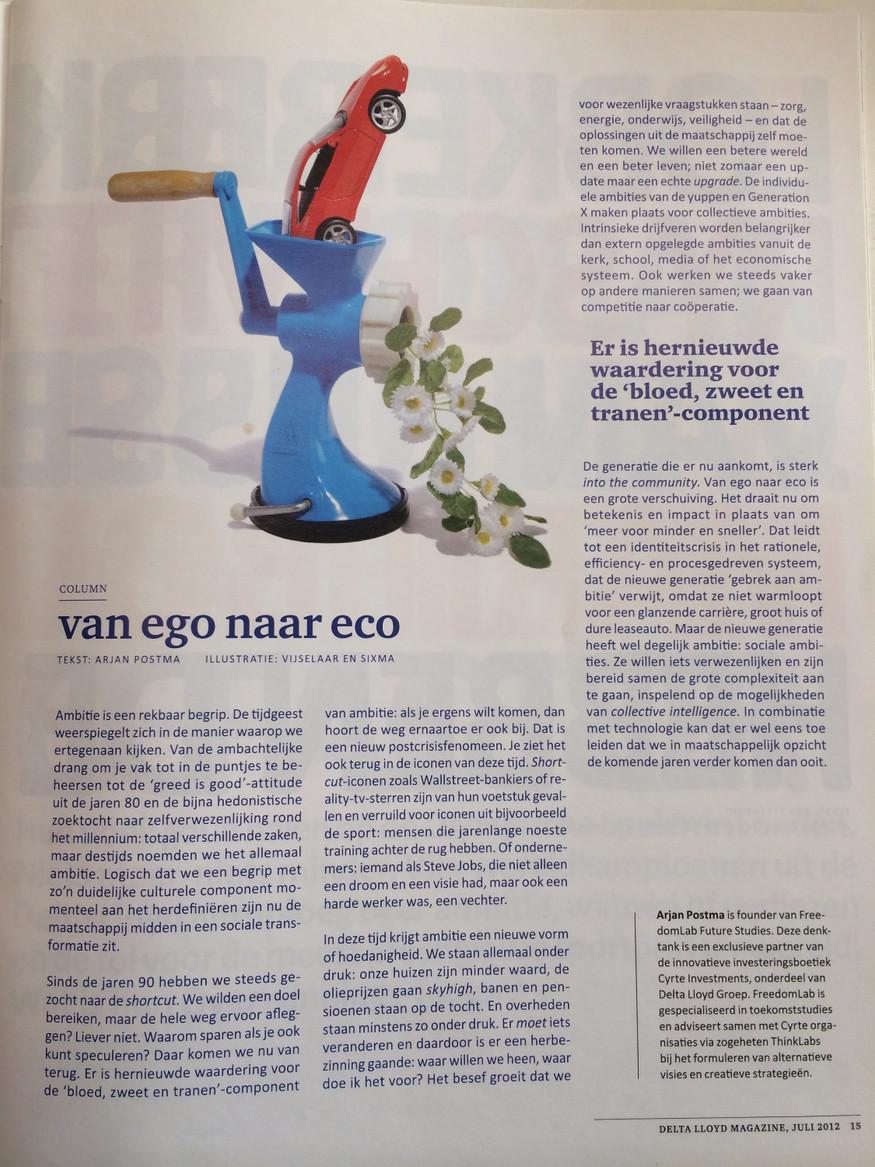 Van Ego naar Eco