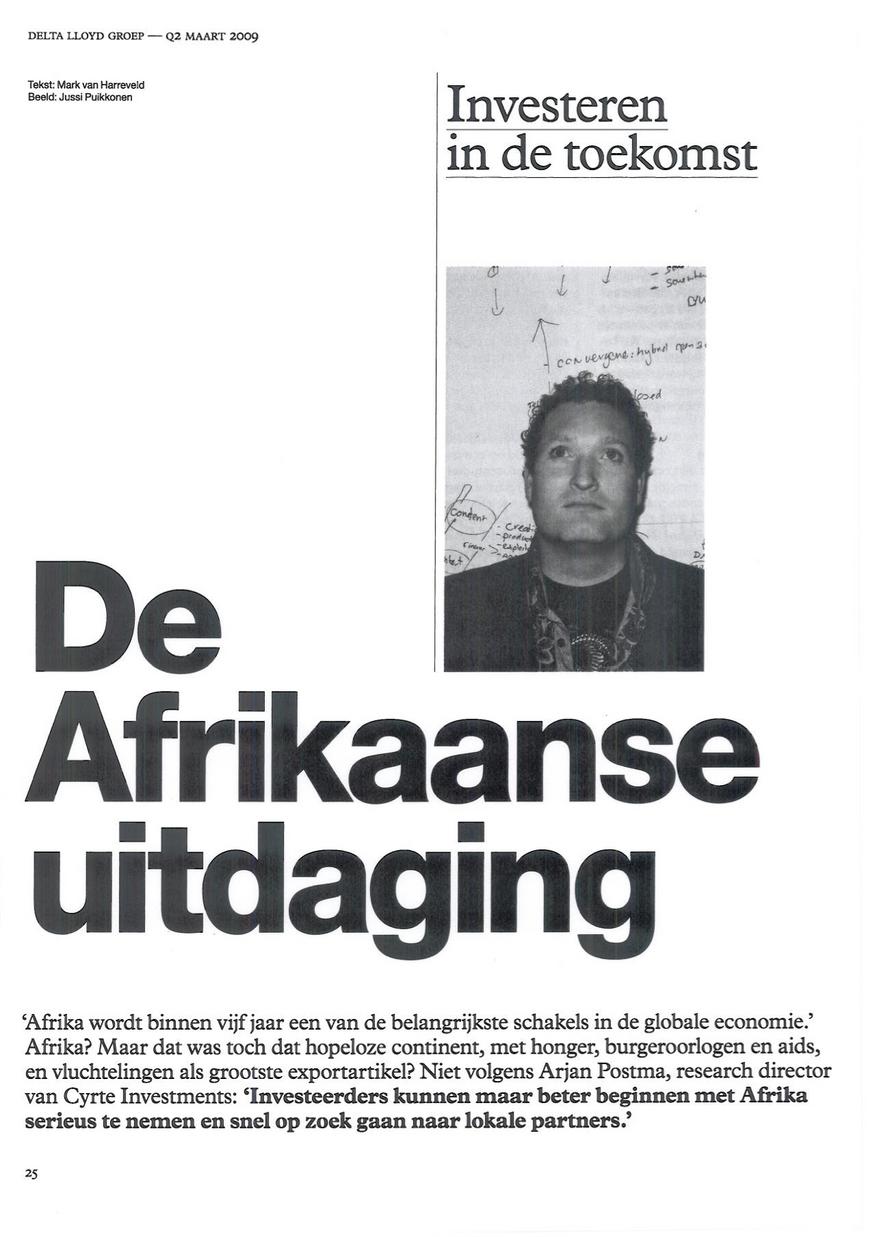 De Afrikaanse uitdaging