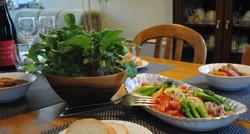 180412 活サラダを食卓に