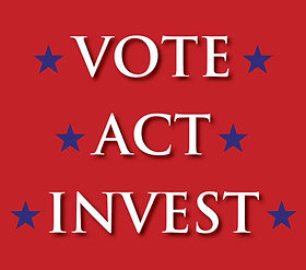 Vote Act Invest with link to invest in RPAC