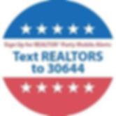 Text REALTORS to 30644 for REALTOR Party Mobile Alerts
