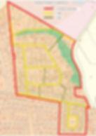 Oversigtskort for HBG-veje og stier -pri