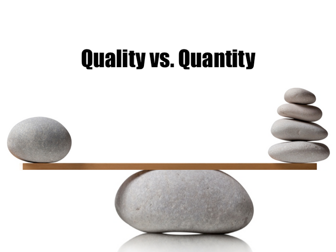 Value derived from data science: The tussle between quality & quantity of models