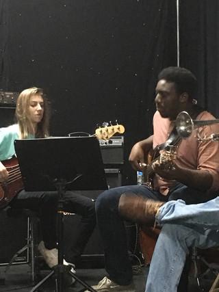 Josh Ewers working with Jacob