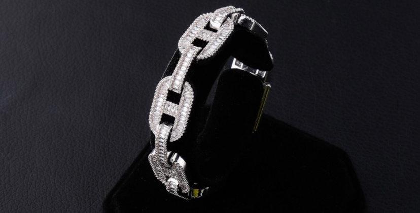 """Bracelet """"14 MM GRAINE DE CAFE GC"""""""