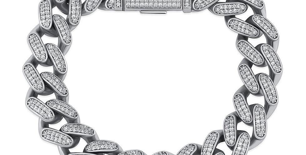 "Bracelet ""14 MM CUBAN LINK PRONG"""