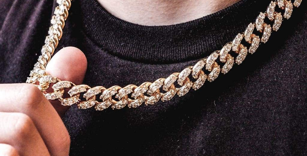 "Chaine ""10 MM  CUBAN LINK"""