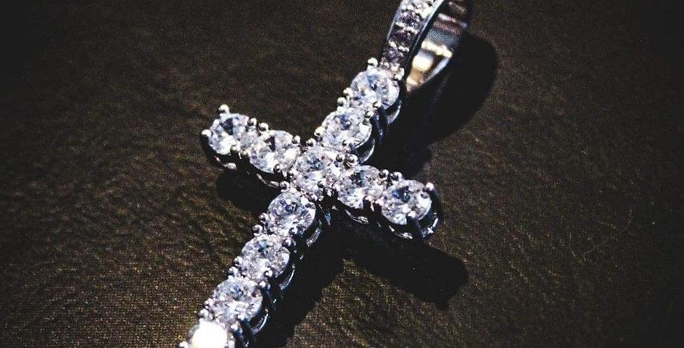 "Pendentif ""Croix Diamond"""