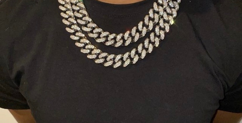 """Chaine """"20 MM CUBAN LINK"""""""