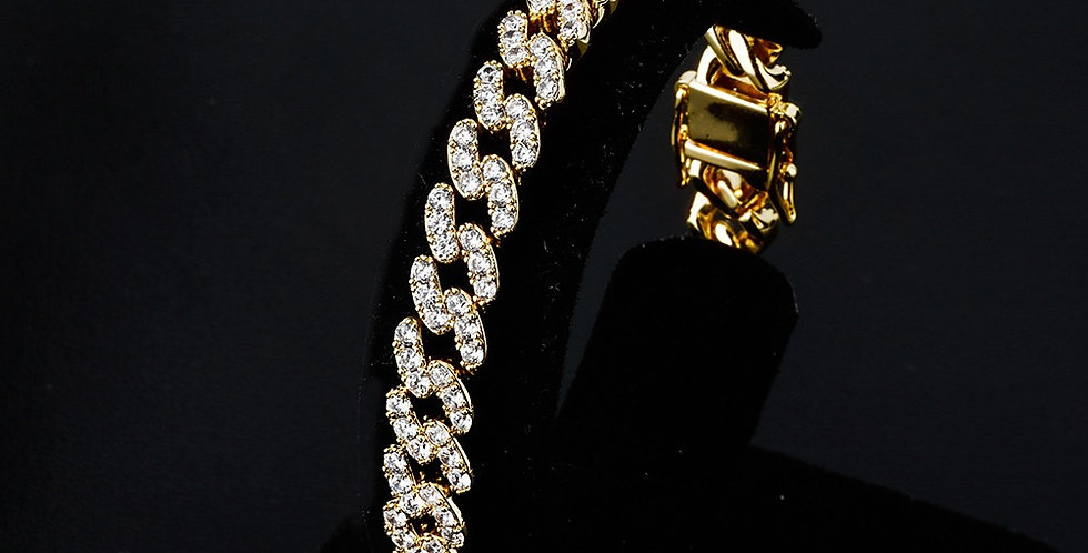 "Bracelet ""8MM CUBAN LINK"""