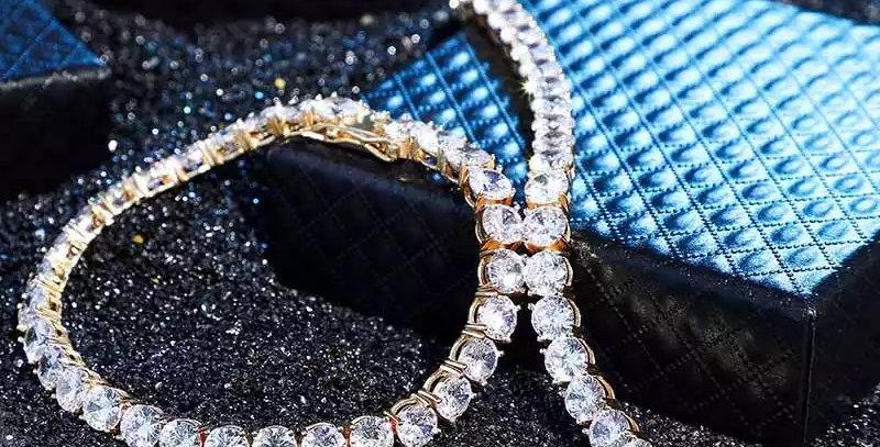 """Bracelet """"TENNIS CZ"""" argent 925"""