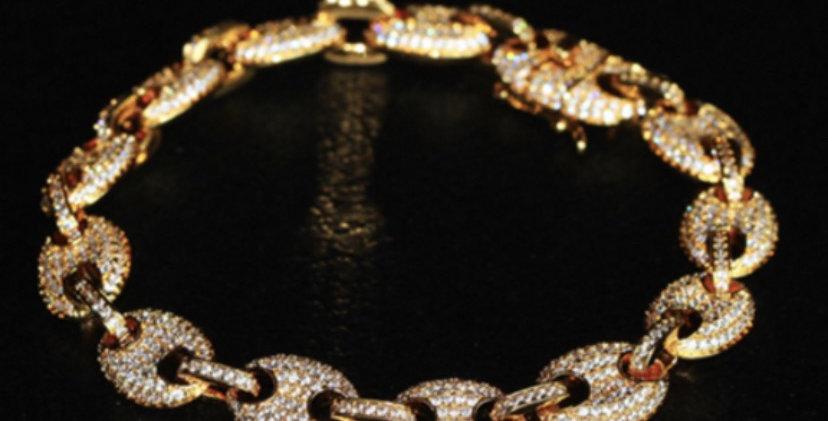 """Bracelet """"GRAINE DE CAFÉ PRÉCIEUX"""""""