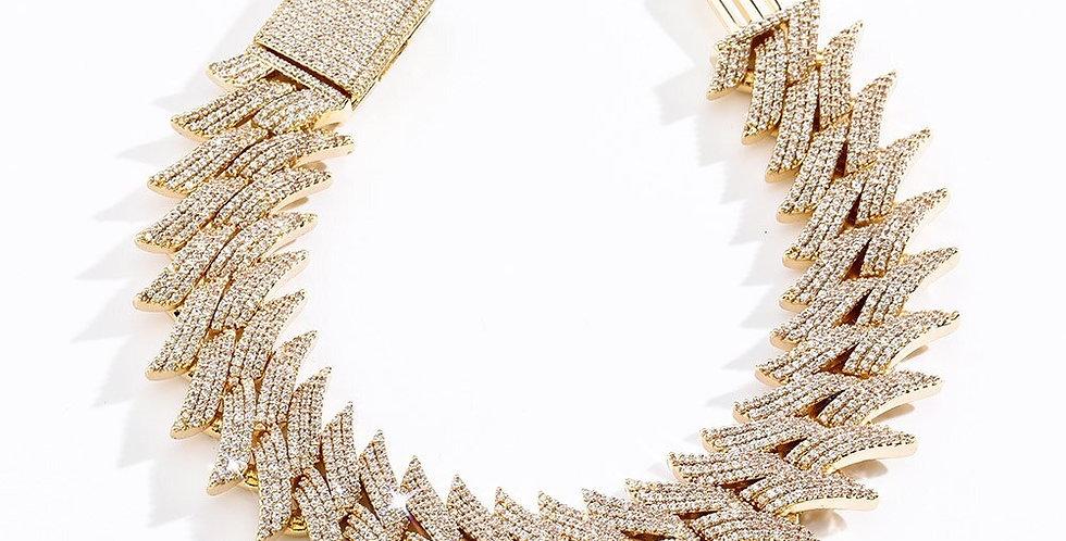 """Bracelet """"20MM CUBAN SPIKE"""""""